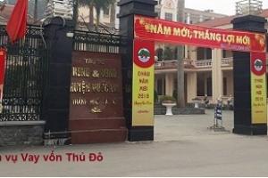 Cho vay vốn thế chấp sổ đỏ ngân hàng tại huyện Quốc Oai